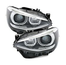 2 FEUX PHARE AVANT ANGEL EYES LED BMW SERIE 1 F20 / F21 DE 11/2010 A 12/2014