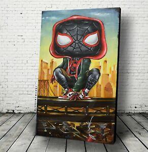Miles Pop Morales Jeremy Worst Spiderman Funko marvel comics cosplay poster art