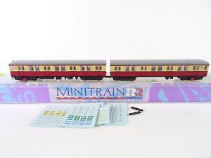 Rivarossi / Minitrain N 5526002 Berliner S-Bahn Viertelzug (Ohne Antrieb) OVP