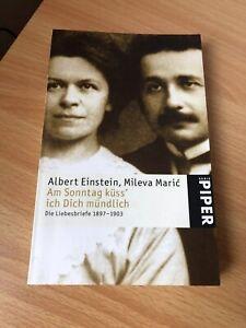 TB v. Albert Einstein,Mileva Maric - Am Sonntag küss´ich Dich mündlich !