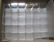 100 Stück Micromount Dosen KLAR für Mineralien / Micromountdosen / Sammlung
