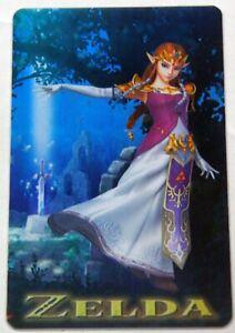 Zelda (Smash Bros) Breath Of the Wild / Hyrule Warriors Amiibo Card