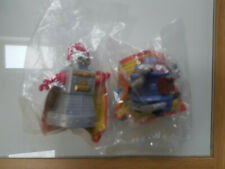 Burger King Fast Food Toys 2 x Robots - Mint in Bag 1998