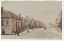 OLD POSTCARD THE ANCHOR BRIDGE STREET STRATFORD ON AVON WARKS REAL PHOTO C.1905