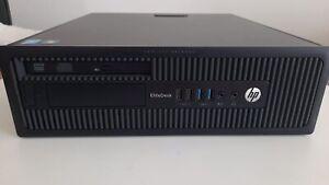 HP 800 G1 I5 4570 3.2 GHZ RAM 8 GB SSD 240 GB WIN 10 PRO