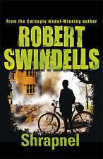 Shrapnel, Robert Swindells, New Book
