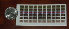 1/18 Scale Custom Waterslide Decals: UK Flag Shoulder Patches (60 total)