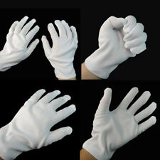 White Short Gloves Captain Clown Magician Santa Halloween Fancy Dress Costume YC