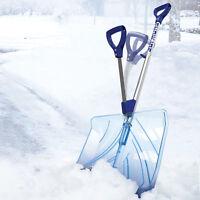 Snow Joe Spring Assisted Handle Shovel | Indestructible | Shatter Resistant