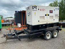 2006 Cat Xq60 Generator Trailer Mounted 60 Kw 3 Phase