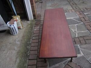 A good quality and nice looking Youngers teak coffee table