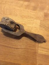 ANTIQUE BUTTER ROLLER/STAMP/MOULD-RARE-TREEN-PASTRY/BUTTER PRINT