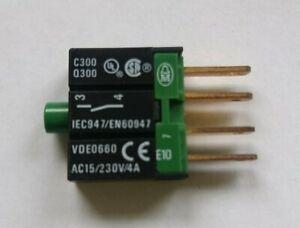 NEU ! E10 IEC947/EN60947 EATON Kontaktelement, Öffner, Frontbefestigung, Möller