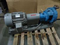 GOULDS BOOSTER PUMP W/ MARATHON ELECTRIC MOTOR, 3196, JH 254TTFS7026BE-F1