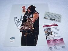 """MONSTER"" ABYSS 8x10 SIGNED TNA IMPACT WRESTLING PHOTO JSA CERTIFIED AUTOGRAPH"