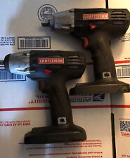 2 craftsman 19.2 1/2 impact wrenches