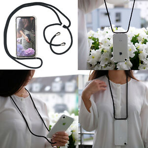 Handykette Handyhülle Schutzhülle mit Band Seil Schnur Case zum Umhängen Kordel