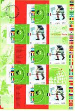 "Bloc, Feuillet 2002 Neuf "" Champions du monde de football """