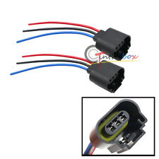 9008 H13 Female Socket Headlight LED Plug Wire Harness Sockets Adapter Connector