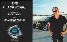 2016 Rick Dore '48 Jaguar Saloon JAMES HETFIELD METALLICA SEMA info card