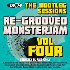 DMC Re-Grooved Monsterjam 4 The Bootleg Sessions Mix Mash Megamix & Remix DJ CD