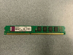 Kingston 1GB 240-Pin DDR3 SDRAM DDR3 1333 (PC3 10600) Model KVR1333D3N9/1G
