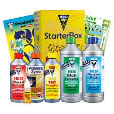 Hesi Starter Kit Erde StarterBox NEU Komplettset Dünger + Zuchtschema