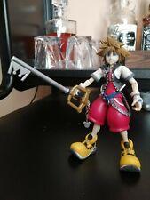 Kingdom Hearts 2 Opened Figure Play Arts Sora Limit Form Rare no box