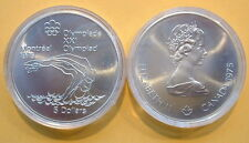 CANADA 1976 OLYMPIC $5 SILVER COIN *No 18**