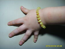 Lot of 10 Butter Baby Genuine Baltic Amber bracelets 18.94gr.  C-153