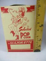 Vintage Majorette Selected Pop Corn Box Popcorn Unused, NOS  (32)