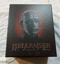 Hellraiser Scarlet Box - Limited Edition Arrow 4-Disc Blu-ray Set - Like New