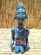"""African Art Temne Puppet  with Articulated Arms From Sierra Leone 13"""" Tall"""