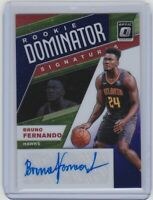 2019-20 Donruss Optic-BRUNO FERNANDO-Rookie Dominator-PURPLE STAR Prizm AUTO/RC