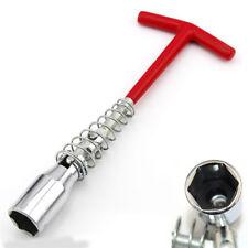 Spark Plug Socket Wrench T Type Grip Handle Flexible Spanner Anti-slip Rubber
