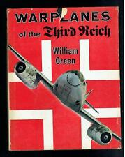 Green, William; War Planes of the Third Reich. Military Book Society 1970 Good
