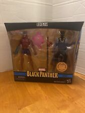 MARVEL LEGENDS BLACK PANTHER KLAW AND SHURI TRU 2 PACK EXCLUSIVE BRAND NEW AND S