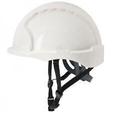 Evo3 C+ Helm, Schutzhelm für Monteure weiss JSP mit-Punkt Kinnriemen