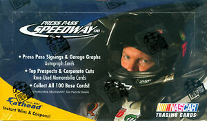 2008 Press Pass Speedway NASCAR Racing Hobby Box - Factory Sealed
