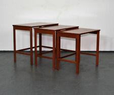 Teak Nesting Tables by Peter Hvidt & Orla Mølgaard Nielsen for France & Søn