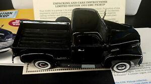 Danbury Mint Ultra Rare Limited Edition 1953 GMC Pickup NIB Undisplayed Doc s-2F