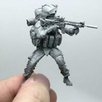 1/35 Modern American Army Special Forces C Resin Soldier M4C5 Model AH-05 W3O3
