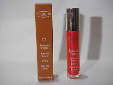 Clarins Summer Fever Baume Soleil SPF6 Sun Lip Balm  02 orange delight 5,5ml