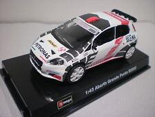 Abarth Grande Punto S2000 Burago Race 1/43