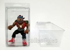 TMNT BLISTER CASE LOT OF 2 Action Figure Display Protective Clamshell X-LARGE