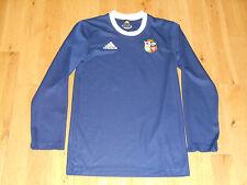 British & Irish Lions #10 Rugby Jersey Adidas Long Sleeve Blue Mens X-Small