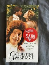 The Clandestine Marriage (VHS 2000) Nigel Hawthorne Joan Collins Timothy Spall