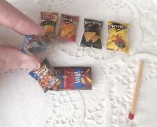 Miniatures sachet Aliments factices Maison Poupée Vitrine Doll House Food Barbie