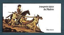 PORTUGAL MADEIRA - Libretto - 1984 - Antichi mezzi di trasporto.