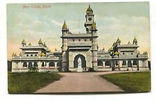 Ajmere - Mayo College - early British India postcard